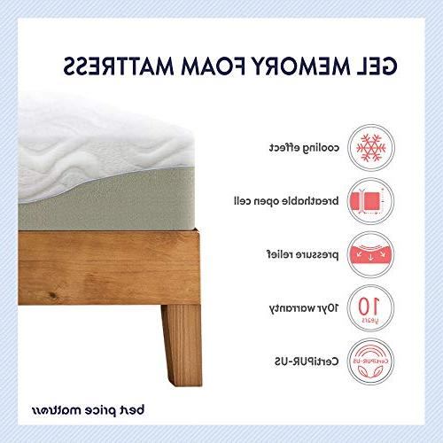 Best Mattress Gel Memory Mattress,