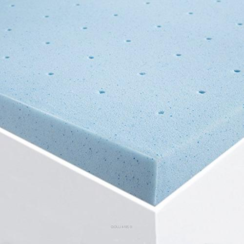 "LUCID 2"" Infused Ventilated Mattress Topper"