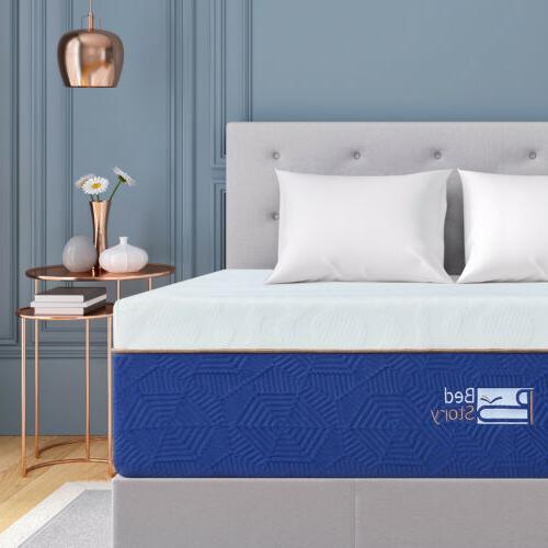 BedStory Gel Memory Foam Mattress 12Inch CertiPUR-US TWIN FU