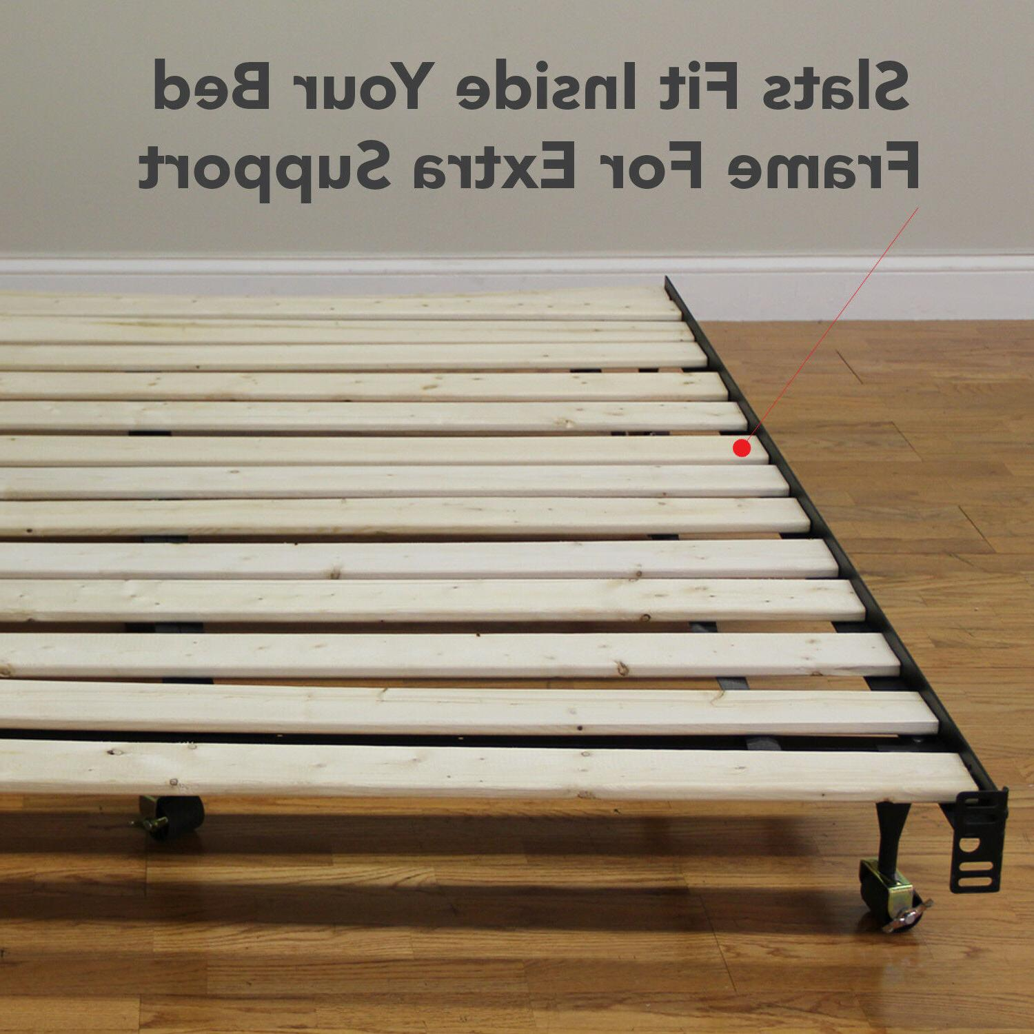 Classic Brands Heavy-Duty Wood Bed for