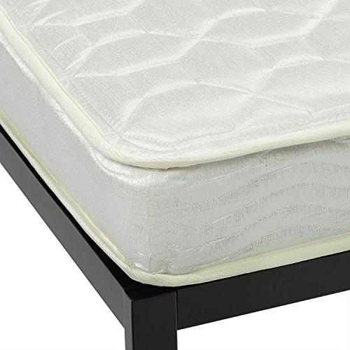 Zinus 6 Mattress, Twin/Cot Size/RV Bunk/Guest 75""