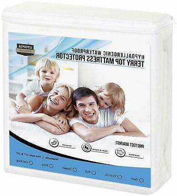 mattress protector queen cover bed