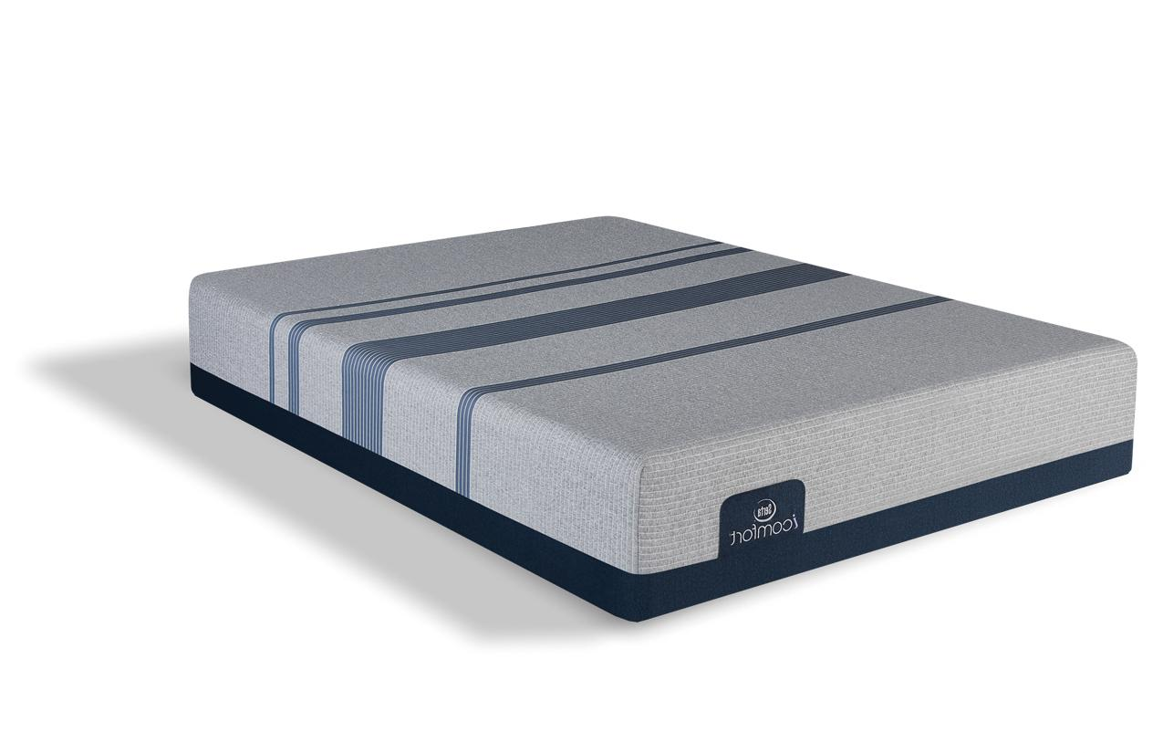 icomfort blue max 500 plush queen mattress