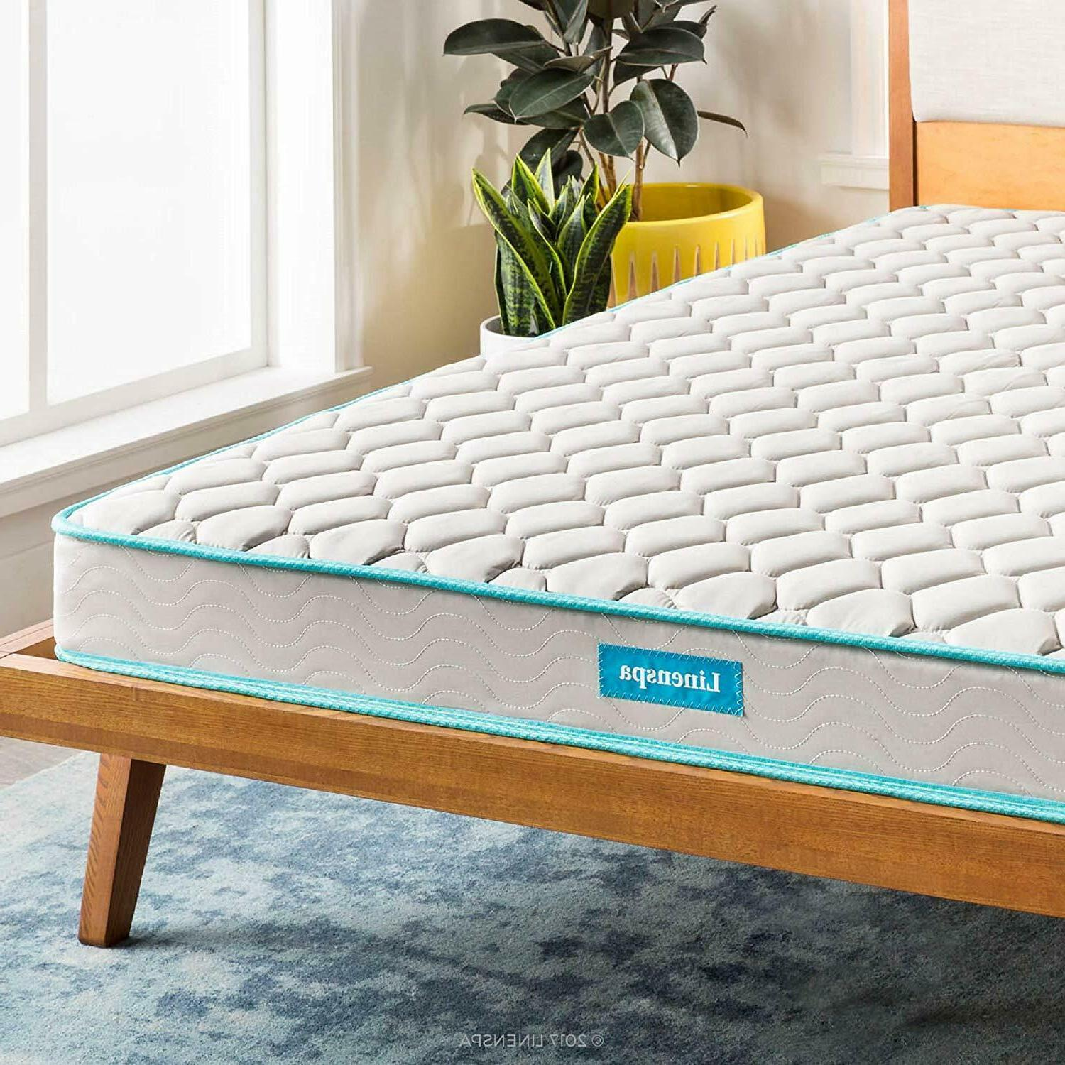 Linenspa 6 Inch Innerspring Mattress Twin Full Queen King Ca