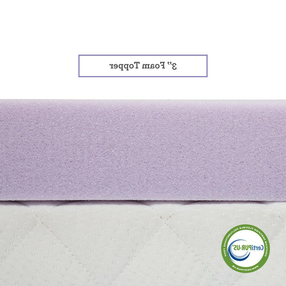 Lavender Inch Memory Foam Bed Full Queen Size
