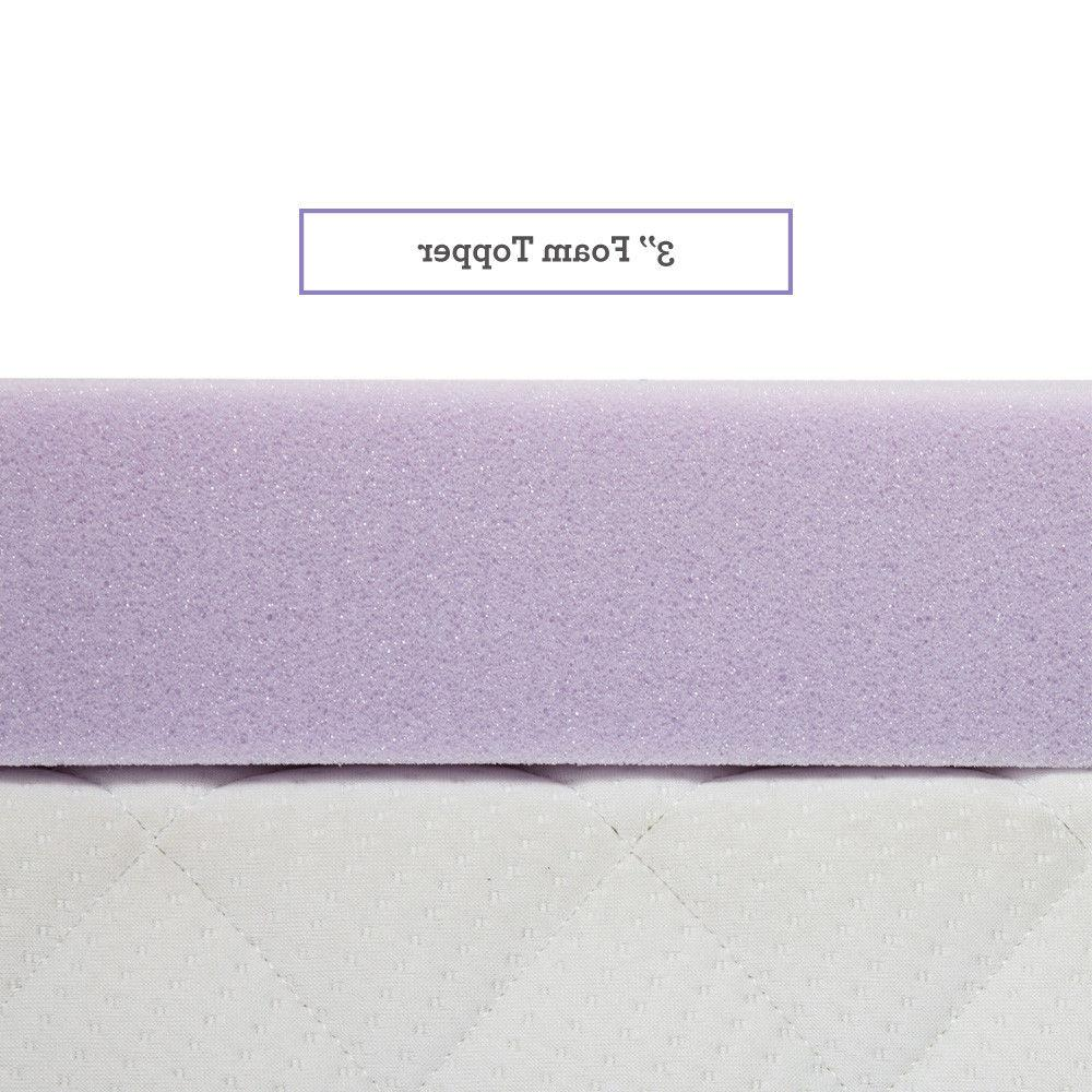 Lavender Foam Topper Inch Pad Bed Comfort Available