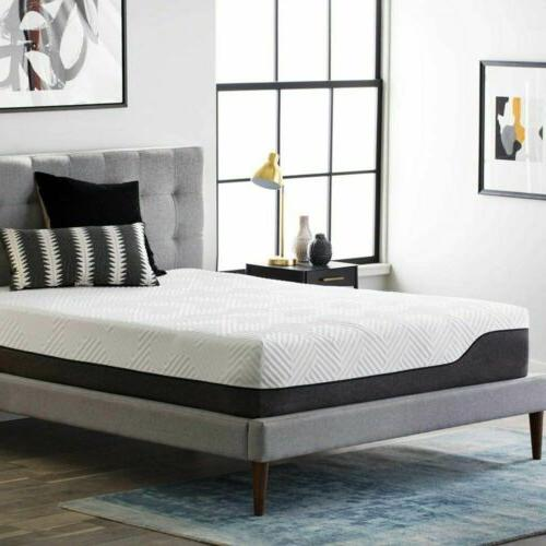 LUCID 12 inch and Mattress - Twin Full Queen King