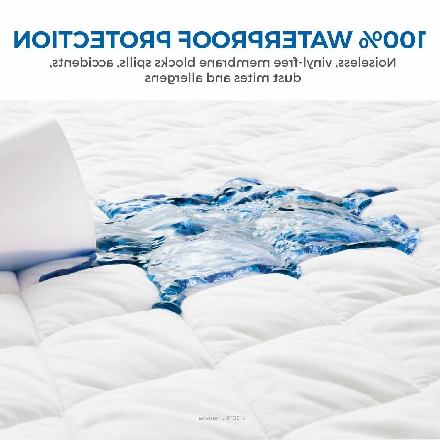Mattress Pad Cover Protector King Queen Full Twin Top