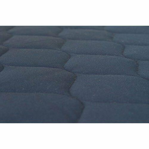 Memory Foam Polyester Quilted Navy Sleep