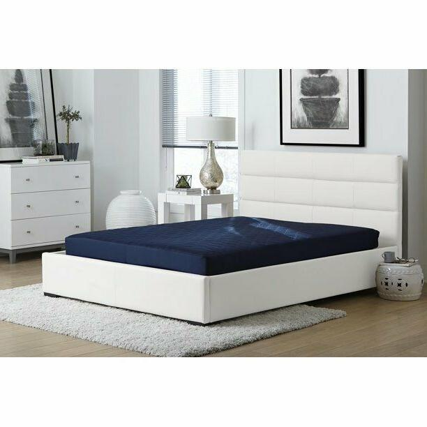 Memory Foam Mattress Comfort Polyester Quilted 6 Inch Multiple Size