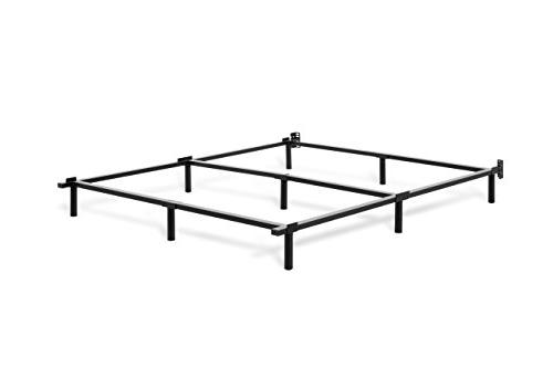 Tuft & Base Bed Frame Queen Mattress Tool-Less Assembly | Black 5-Year Warranty