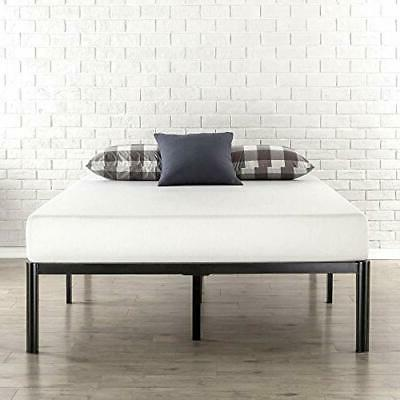 queen bed frame tall round