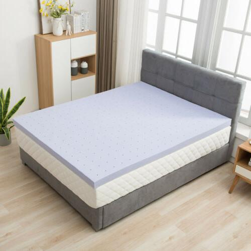 Modern 2'' Full Size Memory Mattress Topper Home