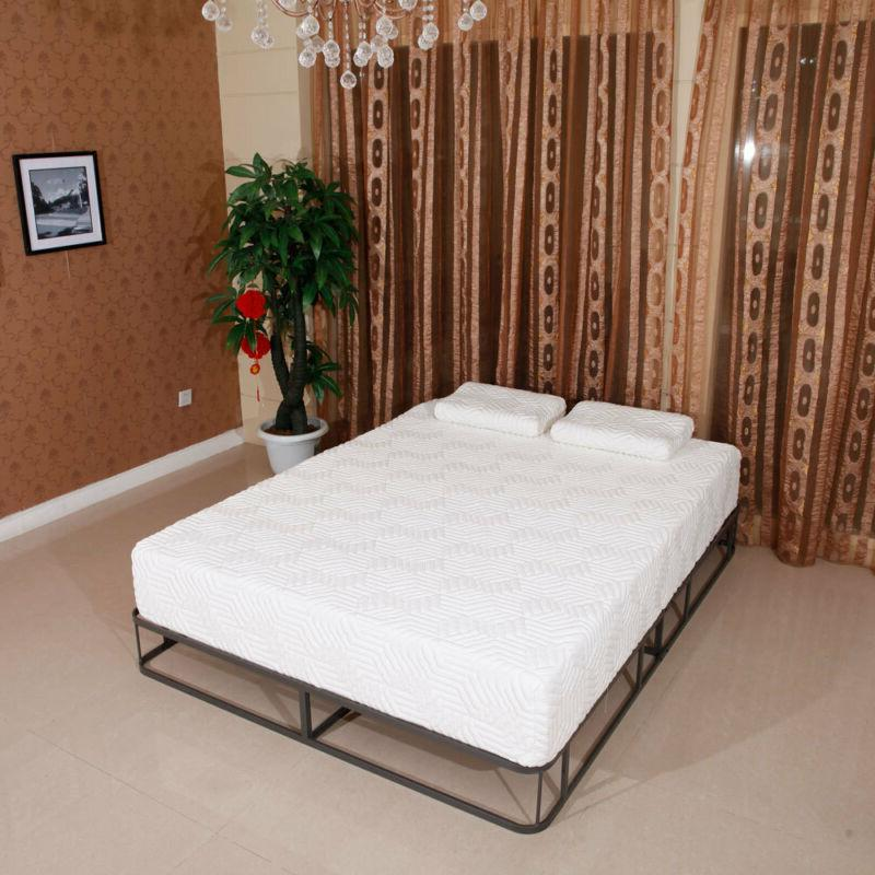 """New 10"""" Inch Traditional Firm GEL Foam Mattress with 2"""
