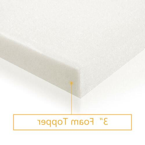 3 Mattress Mattress Foam Pad Topper