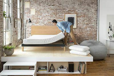 Nod Tuft & Needle Bed in a Responsive Foam,