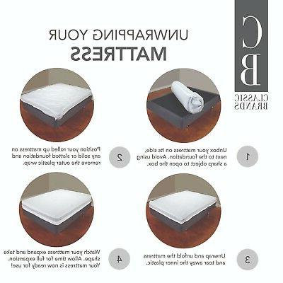 Classic Brands Plush 5-Inch Bed