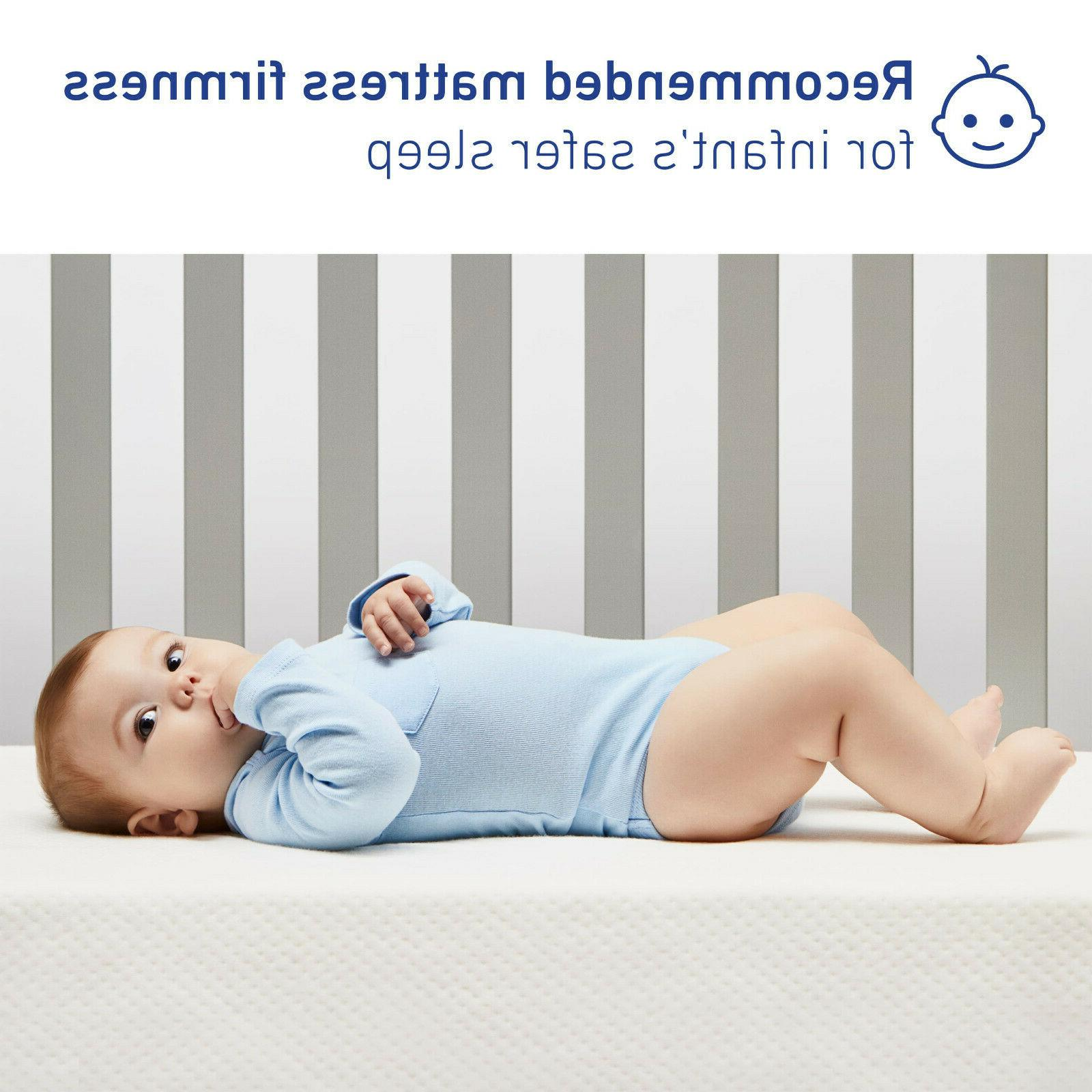 Graco Crib and Mattress in a