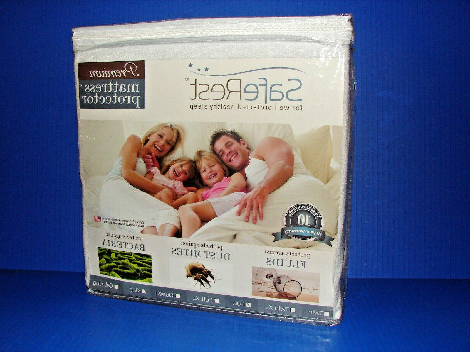 premium hypoallergenic waterproof full size mattress protect
