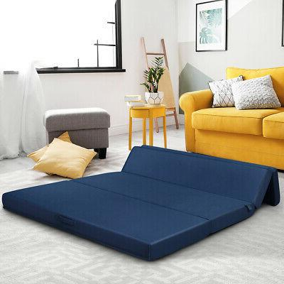 Queen Size -Fold Futon Sleepover Sofa Bed Guest