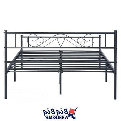 Queen Frame Black with Footboard