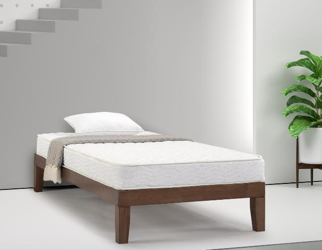 """ZINUS SLUMBER 1 TWIN QUILTED 6"""" BED INNERSPRING FIRM"""