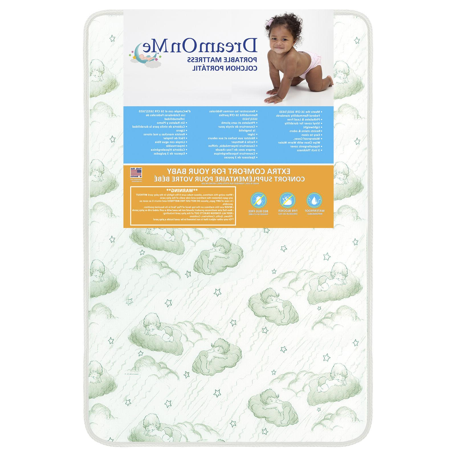 Dream Crib and Toddler Bed Mattress