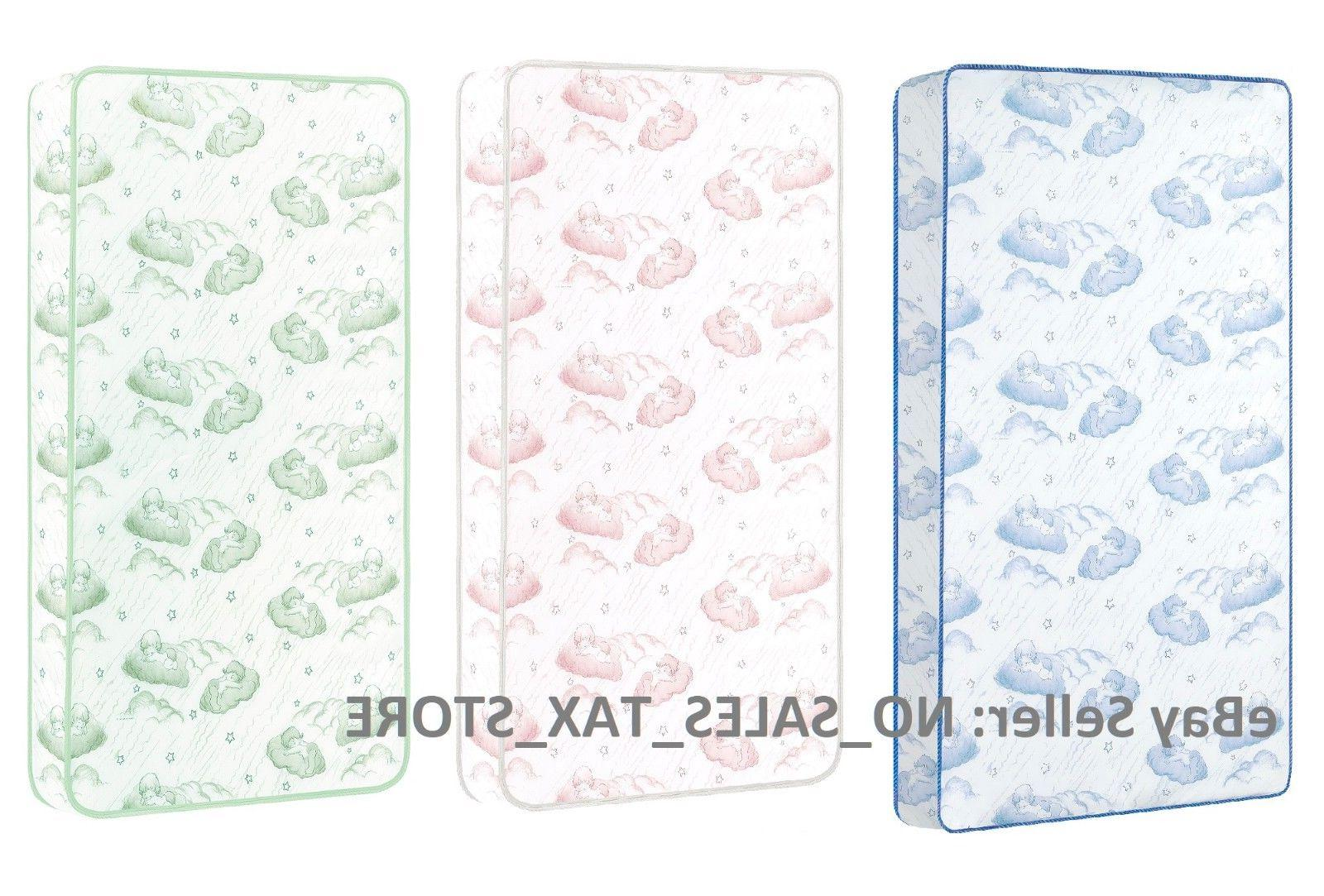 spring crib and toddler bed mattress twilight