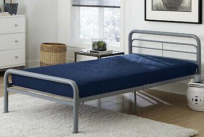 6 Quilted Mattress Full Size Multi Purpose Home Bedroom Slee