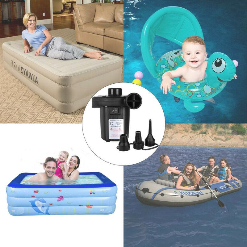 Electric Pump Paddling Fast Deflator Camp Mattress