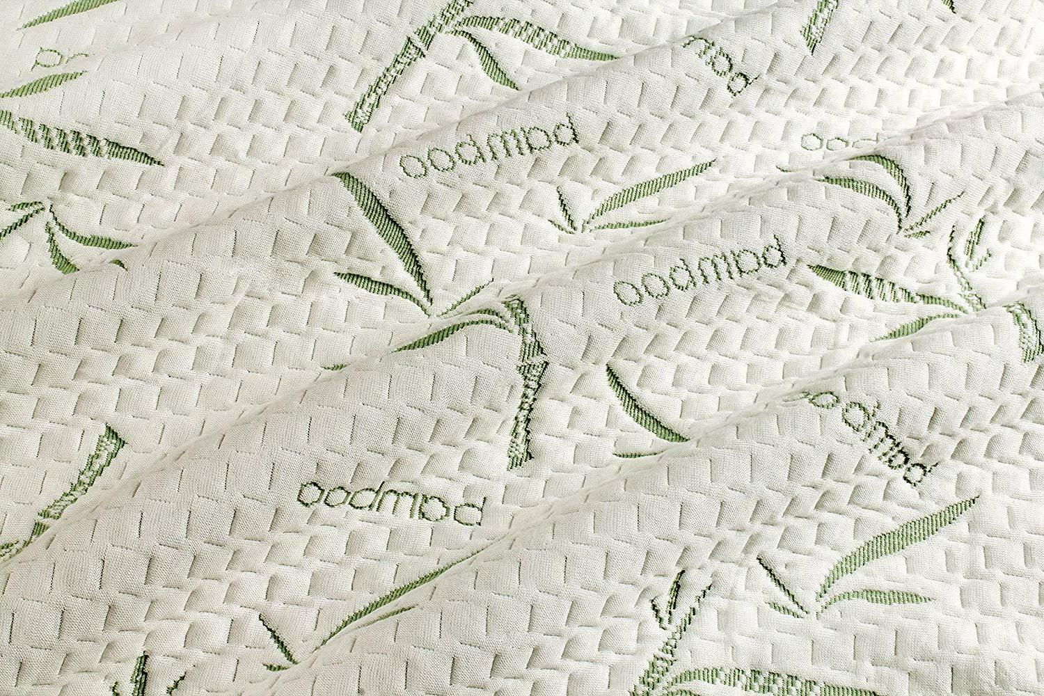 Bamboo Soft Hypoallergenic Fitted Pad