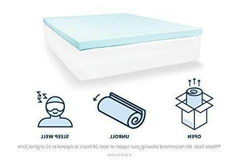 ViscoSoft Memory Mattress Topper