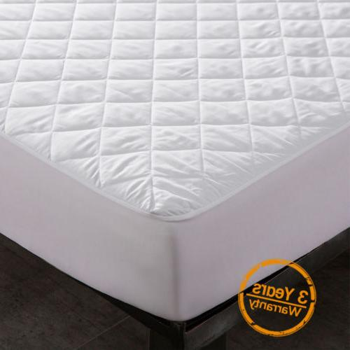 waterproof quilted mattress cover pad bed bug