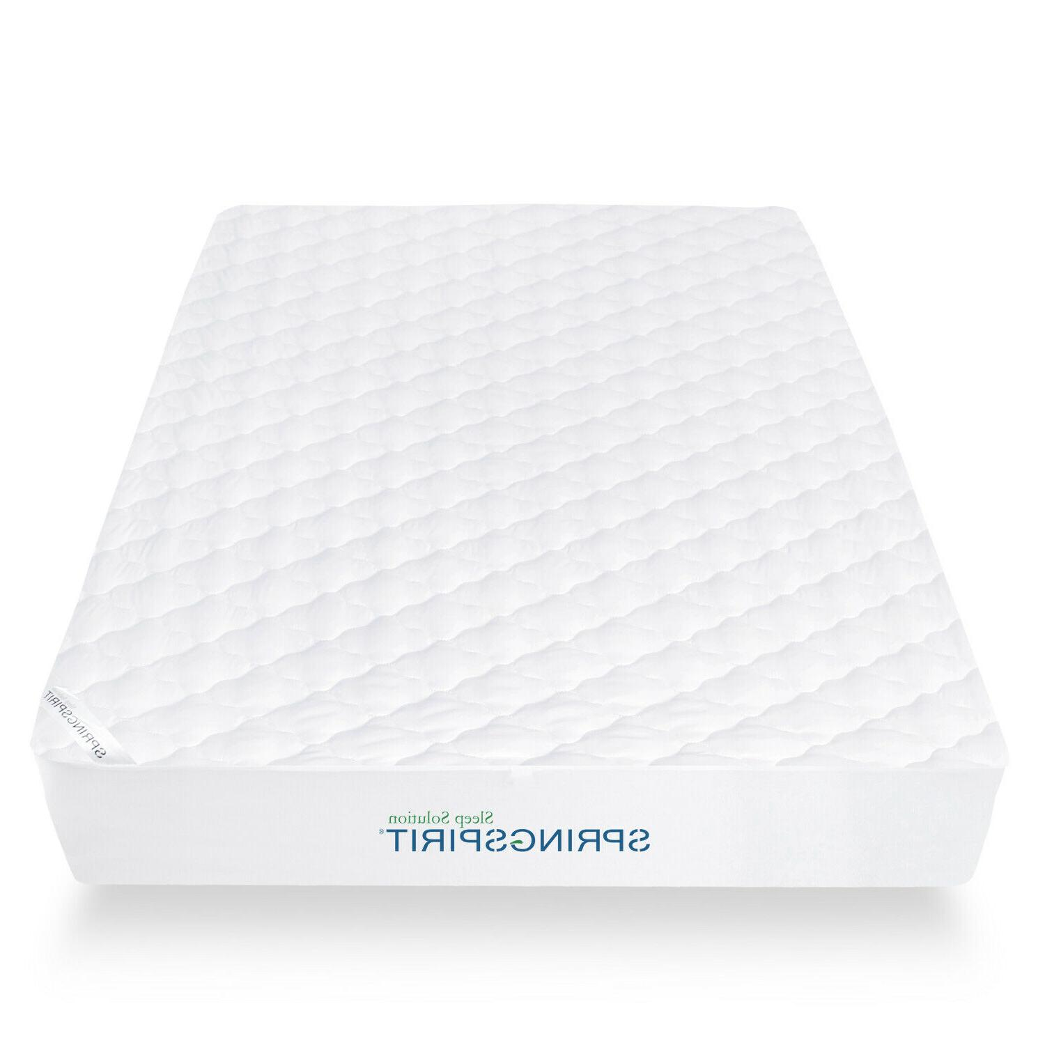 Waterproof Quilted Mattress Pad Absorbent