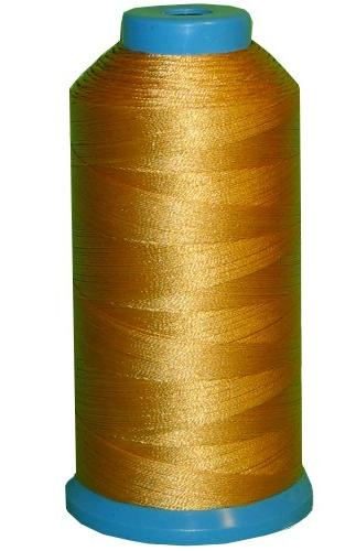 yellow gold bonded nylon sewing
