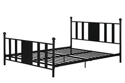 DHP Langham Queen Metal Bed/No Box Spring Required/Premium S