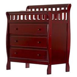 Dream On Me Marcus Changing Table and Dresser, Cherry, Small