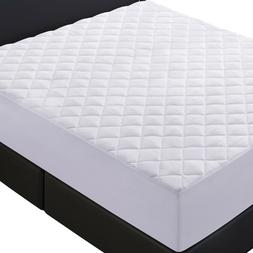 Mattress Cover Quilted Fitted Pad - Stretch by Lux Decor Col