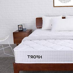 HIFORT Full Size Mattress 8 Inch Medium Firm Pocket Coil Spr