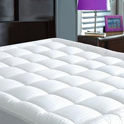 JURLYNE Pillowtop Mattress Pad Cover Twin XL Size - Hypoalle
