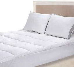"""Mattress Topper Cover King Size Soft Pad Protector 15"""" Deep"""