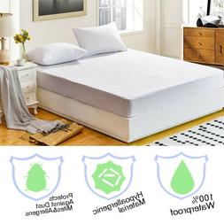 Waterproof Mattress Cover Protector Terry Towel Extra Deep F