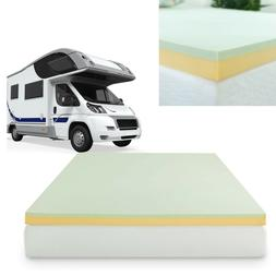 Memory Foam Mattress Topper Camping Pad Short Queen Size For