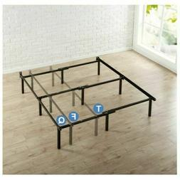 Metal Bed Frame Adjustable Rails Twin Full Queen Size Base B