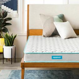 NEW! Linenspa 6 Inch Innerspring Mattress - Twin