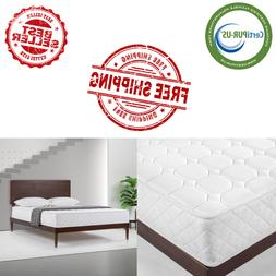 NEW Slumber 1 8 inch Spring Mattress-In-a-Box Queen Tight To