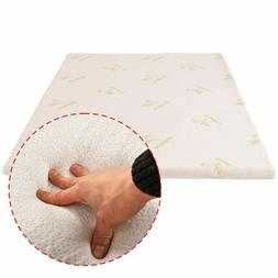 new3 queen size memory foam bamboo cover