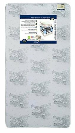 Serta Nightstar Deluxe Rest Innerspring/Memory Foam Crib and