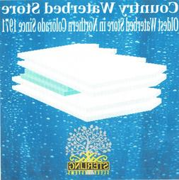 Sterling Parklane Hard Sided Waterbed Mattress 9256 With Lum