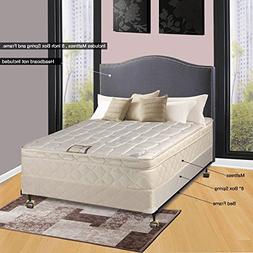 Spinal Solution 9 Pillowtop Fully Assembled Orthopedic Mattr